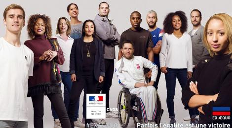 #ExÆquo, nouvelle campagne contre les discriminations dans le sport