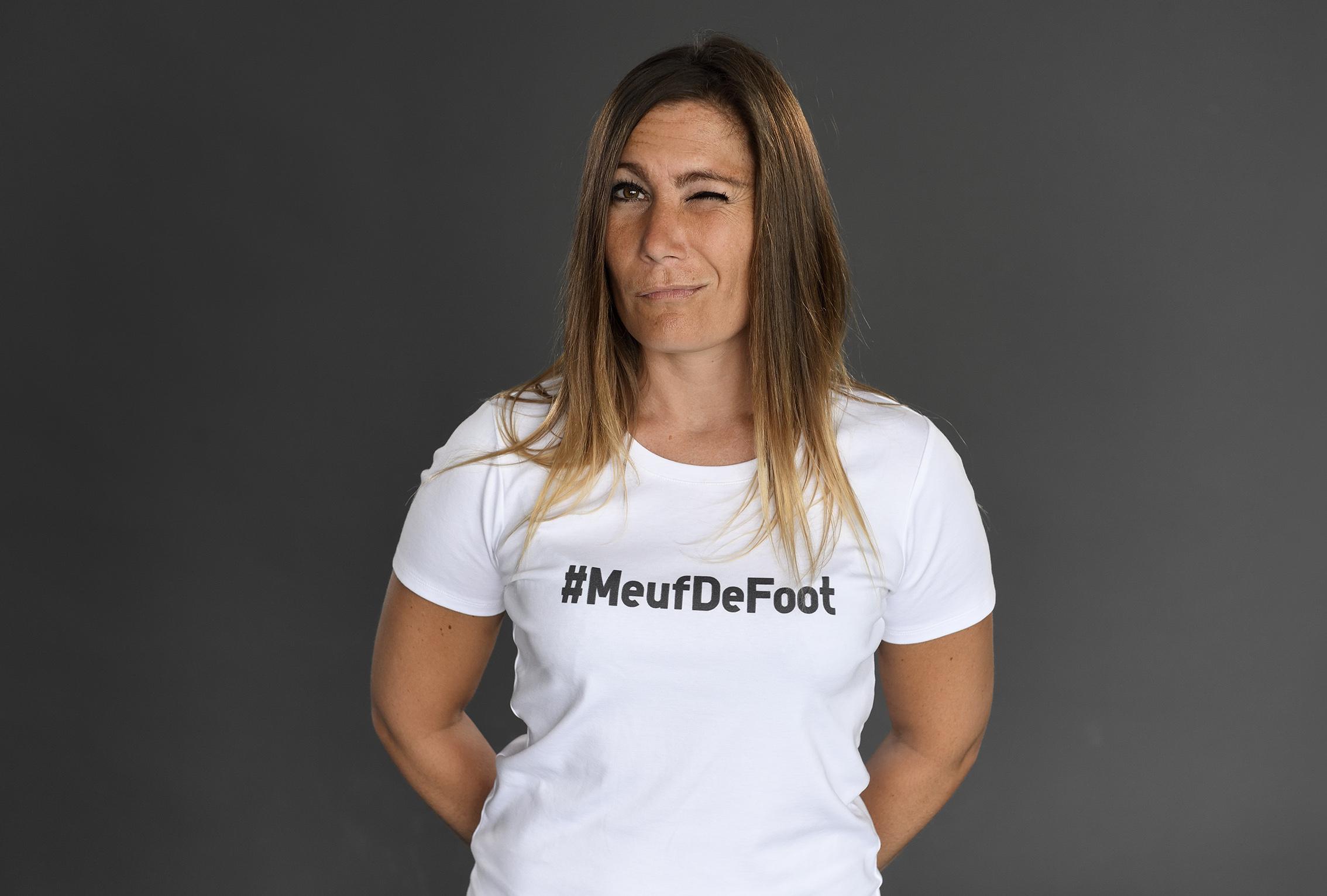 La #meufdefoot, c'est elle