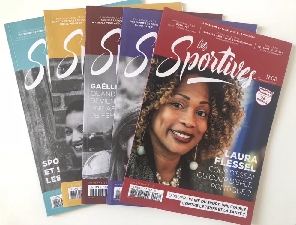 Un magazine pour parler de sportives, pas de femmes et de sport