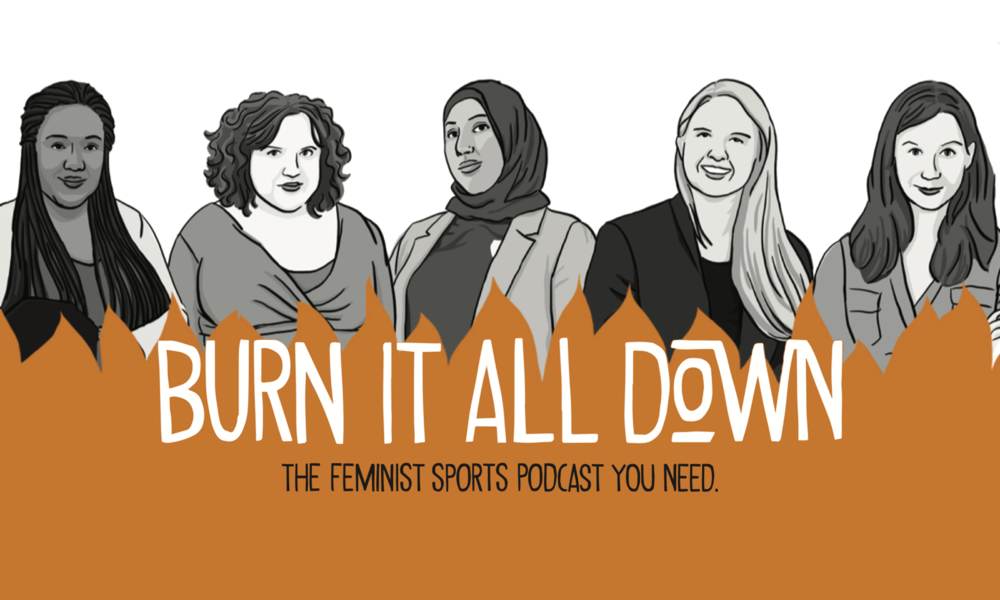 Podcast « Burn it all down » : donner la voix au sport féminin